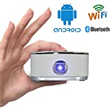 SPEEDWOLF Portable DLP Home theater movie Mini Video Projector support 1080P WIFI