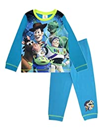 Boys Toy Story Pajamas Set Long Nightwear Character Woody Buzz Gift