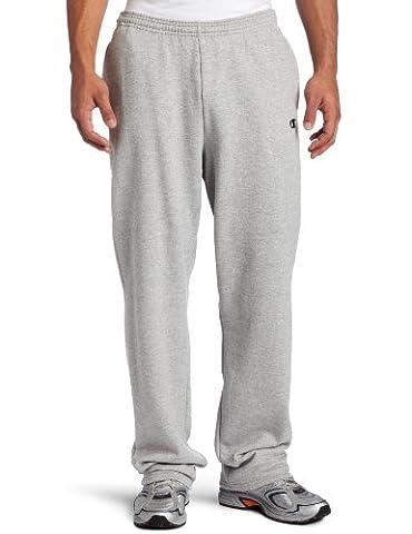 Champion Men's Open Bottom Eco Fleece Sweatpant, Oxford Gray, X-Large - Champion Oxford Sweatpants