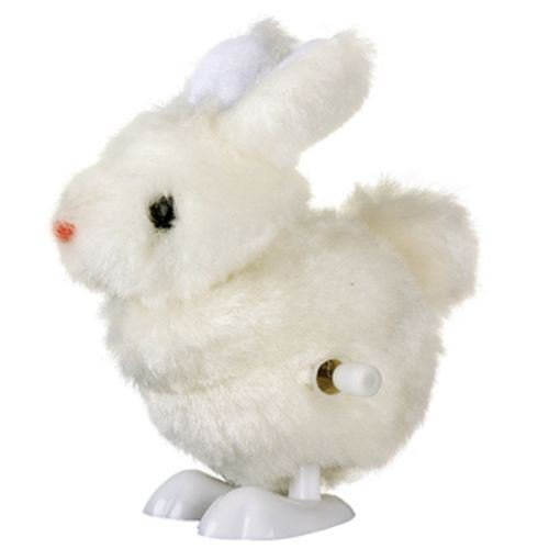 Clockwork Lapin Mini Vent Up Baby Easter Rabbit Fluffy Hopping mignon Toy cadeau Fun