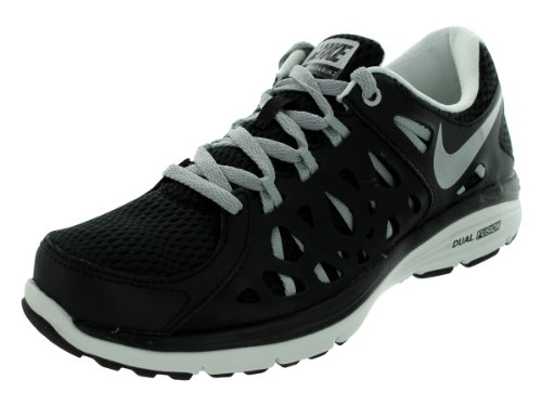 8dfbcdfe688866 Nike Womens Dual Fusion Run 2 Running Shoe Black Armory Slate Pink  Foil Metallic Silver - Buy Online in UAE.
