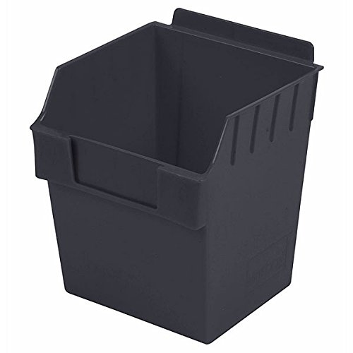 Retail Black finish Cube Storbox bin 5.90''d x 5.90''w x 7.0''h by Storbox
