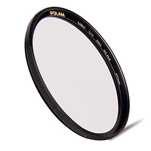 POLAM-FOTO 67mm Multi-Coated HD UV Protective Filter( Brass ring, Schott Glass, Ultra-Slim) Hd Filter