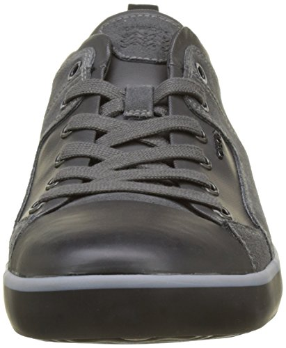 Geox Men's U Smart a Low-Top Sneakers Grey (Anthracite C9004) free shipping huge surprise o91VjJk6Ga