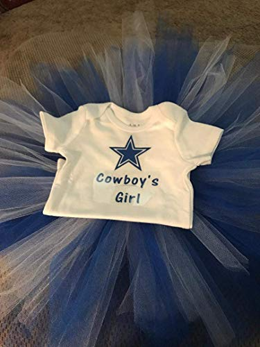 Cowboy's Girl T-Shirt and Tutu/Girls Tutu/Dallas Tutu/Dallas ()