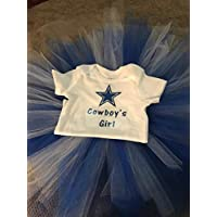 Cowboy's Girl T-Shirt and Tutu/Girls Tutu/Dallas Tutu/Dallas Girl