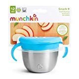 Munchkin Stainless Steel Snack Catcher with