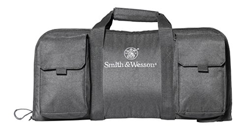 Magnum Range Bag (Smith & Wesson Gear Magnum Handgun Case Single Padded Pistol Bag for Hunting Shooting Range Sports Storage and Transport)