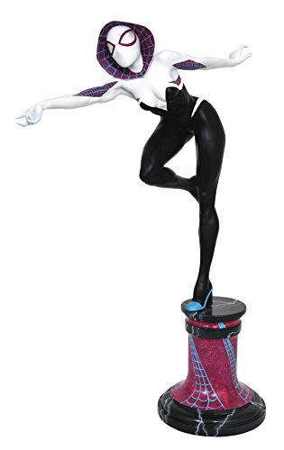 DIAMOND SELECT TOYS Marvel Premier Collection Spider-Gwen Masked Resin Statue