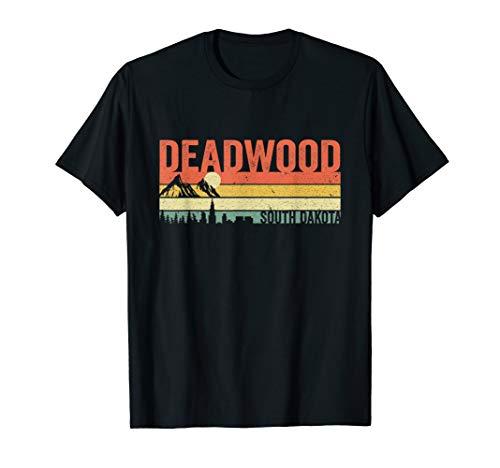 Deadwood City South Dakota Graphic Souvenir Shirt Men Women