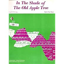 In the Shade of the Old Apple Tree (Harry Williams) - Piano/Vocal Sheet Music