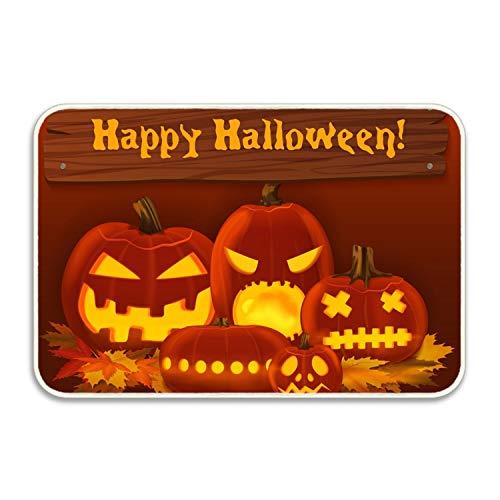 FunnyLife Halloween Party Welcome Floor Doormat Home Decor Durable Non-Slip