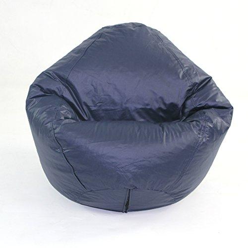 American Furniture Alliance Fun Factory Classic Bean Bag, Medium, Navy by American Furniture Alliance Fun Factory