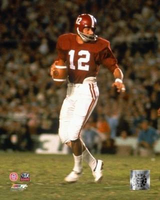 Joe Namath Alabama Crimson Tide NCAA Action Photo Size: 8 x 10