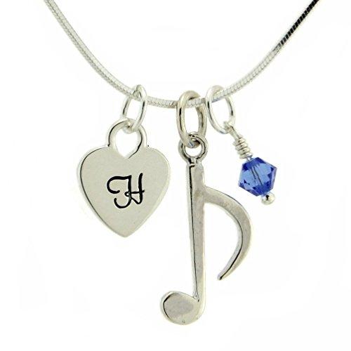Angel Birthstone Necklace Gift Box - 8
