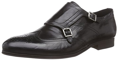 Hudson Uomo Buffalo Castleton Stringate Scarpe London Nero Black vrXqwCrE