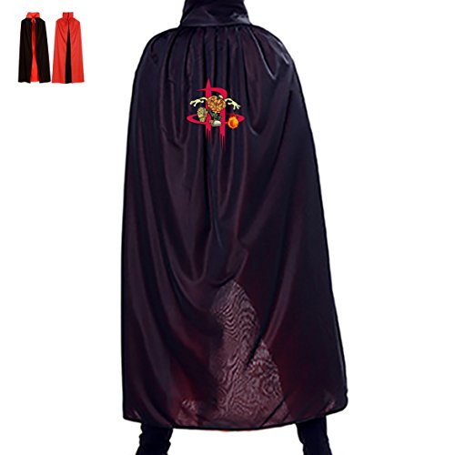 Houston/Rockets Halloween Cloak Masquerade Costumes Cosplay Mantle (Houston Halloween Costumes)