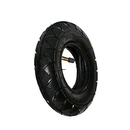 200X50 Tire & Inner Tube Set for Electric Scooter like Razor E100, E150, E200, Dune Buggy, ePunk, Crazy Cart, PowerRider 360 and eSpark