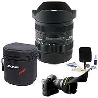 Sigma 12-24MM F/4.5-5.6 II DG HSM AF Lens BUNDLE for Sigma Cameras, #204-110