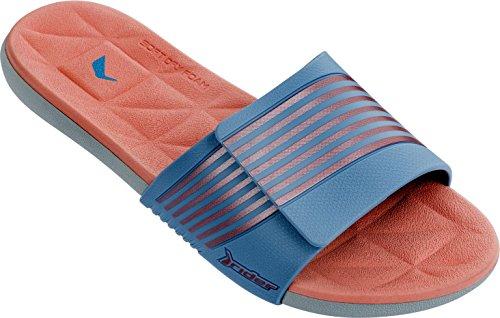 Pantofole Da Donna Pilota Prana Fem Grigio-blu-arancio