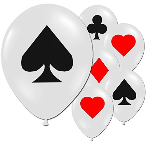 48 Casino Nights Gambling Party Card Suit Decoration 12