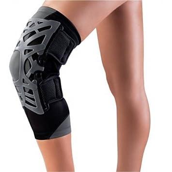 6e37acb7f8 Reaction Web Knee Brace from DonJoy - DJO Global in M Medium/Large Medium/Large  - Grey: Amazon.co.uk: Health & Personal Care