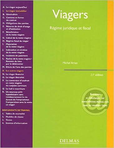 Livres Viagers : Régime juridique et fiscal epub, pdf