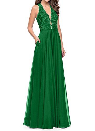 Grün Damen Rock Braun Promkleider A Linie Langes Partykleider Abschlussballkleider Abendkleider Charmant p4qCw7Pxx