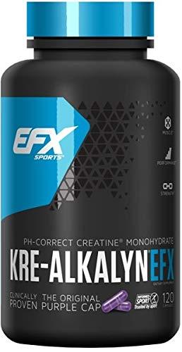 EFX Sports Kre-Alkalyn EFX, 120 Count
