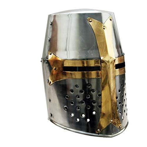 - Mariyam Art Handicraft Great Brass Crusader Helmet