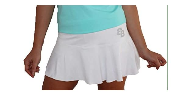 Falda Basica Chica Blanca para Tenis Y Padel - XL: Amazon.es: Ropa y accesorios