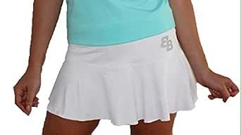 Falda Basica Chica Blanca para Tenis Y Padel - XL: Amazon.es: Ropa ...