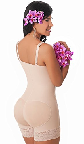 2adfb601ad Salome 0215 Butt Lifter Body Shaper Women Faja Colombiana Levanta Cola  Strapless Beige 2XL
