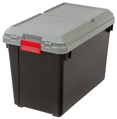 IRIS 25.5 Gallon Store-it-All Heavy Duty Stackable Utility T