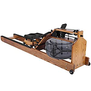 Water Boating White Oak Rowing Machine – with Monitor,aSH