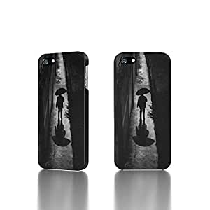 Apple iPhone 4 / 4S Case - The Best 3D Full Wrap iPhone Case - A Rainy Night Walk