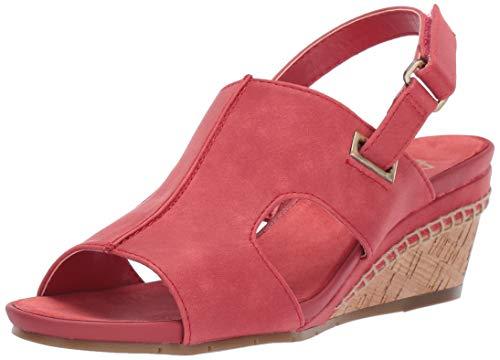 A2 by Aerosoles Women's Pound Cake Wedge Sandal, Coral, 5 M - Sandals Aerosoles Pink