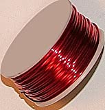 18 Gauge Round Magenta Enameled Craft Wire - 21 Ft