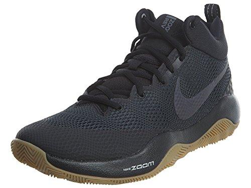 Nike Zoom Rev Mens, BLACK/ANTHRACITE-GUM LIGHT BROWN, 44 D(M) EU/9 D(M) UK