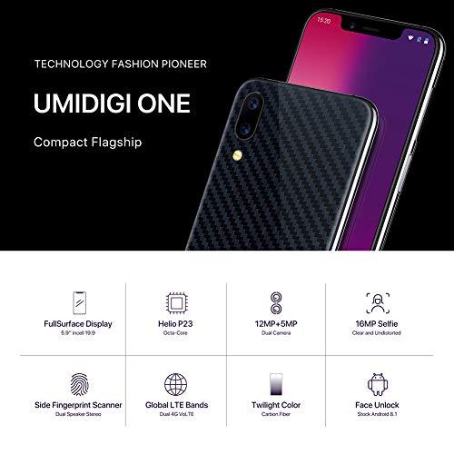 58aaaf8e180 Jual Smartphone Android 8.1 UMIDIGI ONE Global Edition 5.9  Full ...