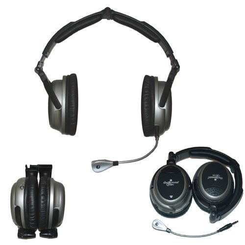 theBoom Quiet Hands Free Noise Cancelling Computer Headset