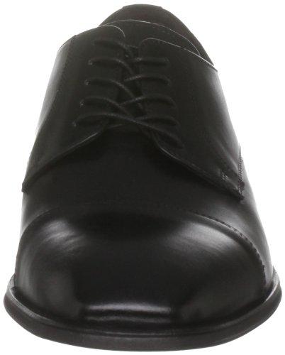 Florsheim - Zapatos de cordones de cuero para hombre Negro(Black)