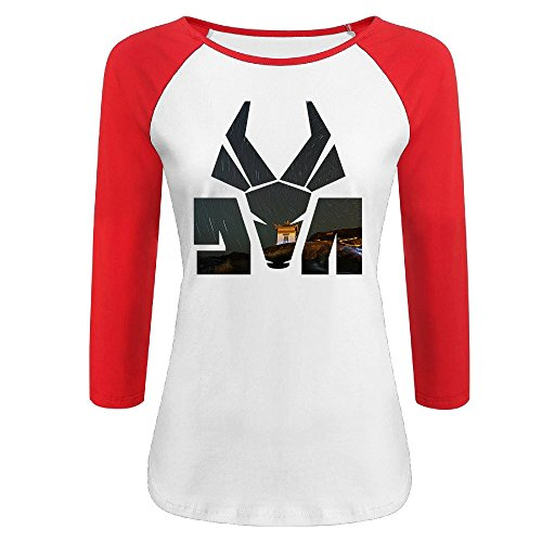 EUNICORN SG Die Antwoord Logo Women Or Youth 3/4 Sleeve Baseball Raglan T Shirt