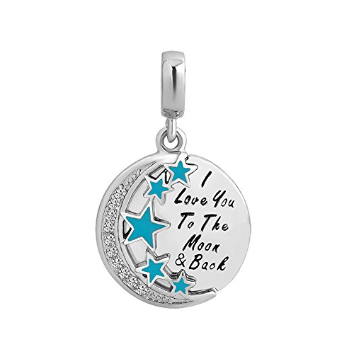 luckyjewelry-i-love-you-to-the-moon-and-back-round-dangle-beads-fit-charms-bracelet-necklace-blue
