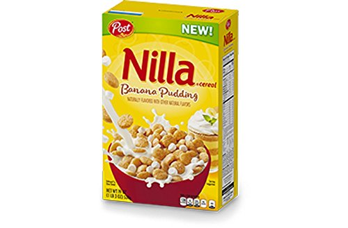 Post Nilla Banana Pudding Cereal (19 oz. Box)