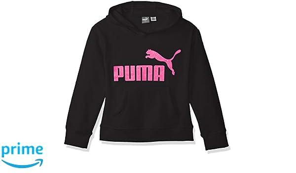 1 Logo Hoodie XL PUMA Girls Big Fleece No Black Girls