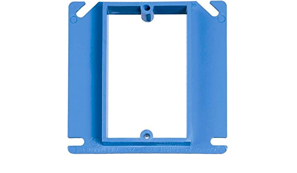 ENT Square Box A5215DRCAR Carlon Nail-On 4 In x 4 In 1 Each