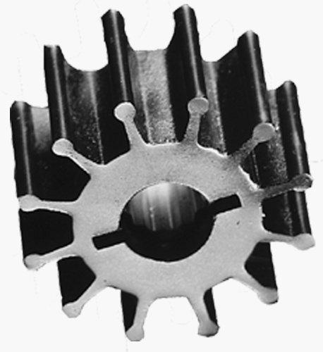 Replacement Marine Impeller - Jabsco 1210-0001-P Marine Replacement Impeller, Neoprene, K Silhouette, 1.25