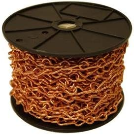 Roll 50 Ft Copper Jack Chain
