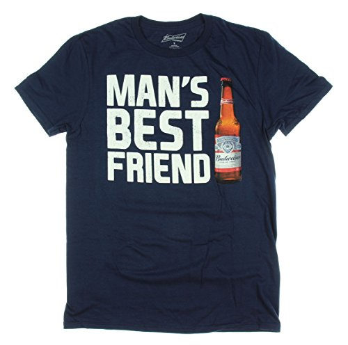 budweiser-beer-mans-best-friend-graphic-t-shirt-x-large